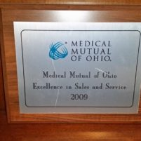 Medical Mutual of Ohio Excellence in Sales and Service 2009